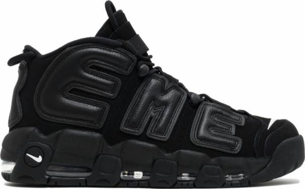 info for eafc6 cc152 Nike Air More Uptempo Supreme Black, Black-white