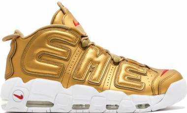 c979cb23f4 Nike Air More Uptempo Supreme Metallic Gold, White Men