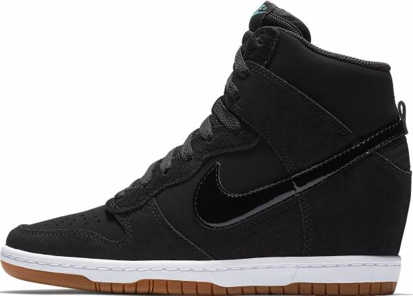 the latest 29e75 e380a Nike Dunk Sky Hi Essential Black Black-sail-gum Med Brown