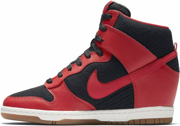 Nike Dunk Sky Hi Essential - Black/University Red-sail-black (644877015)