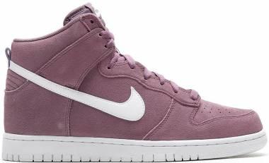 Nike Dunk High Medium Purple // White Men