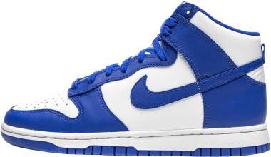 Nike Dunk High - White/Game Royal-total Orange (DD1399102)