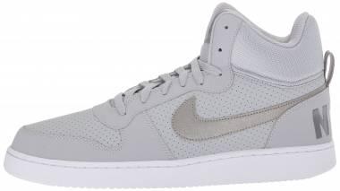 Nike Court Borough Mid - Grau Wolf Gr E Y M T L C Pewtercool Grey 004 (838938004)