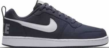 Nike Court Borough Low - Blau Thunder Blue White Wolf Grey