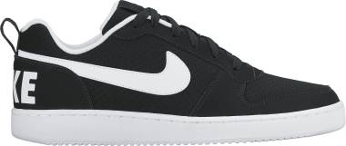 Nike Court Borough Low - Black Black White