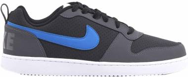 Nike Court Borough Low - Black Black White Blue Nebula Dark Grey 006 (838937006)