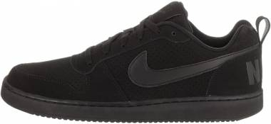 Nike Court Borough Low - Black/Black/Black