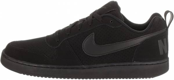quality design 0914c 16656 Nike Court Borough Low Black
