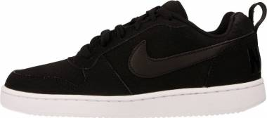 Nike Court Borough Low - Black Black Black White (844905001)