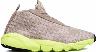 Nike Air Footscape Desert Chukka - Chino/Volt-Black (652822200)