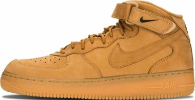Nike Air Force 1 Flax - Brown (Flax / Flax-outdoor Green) (715889200)