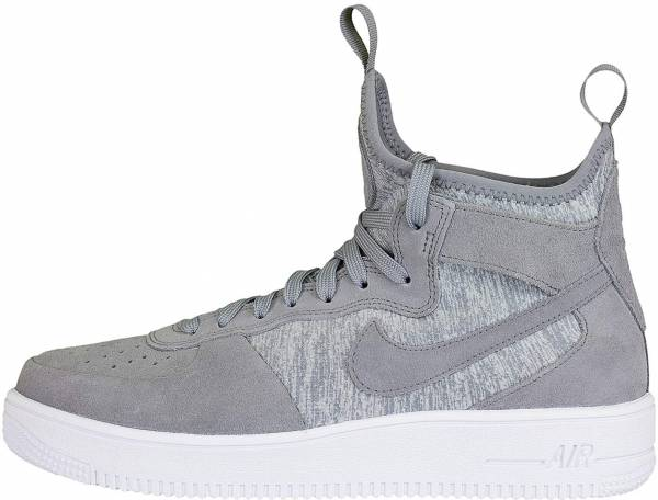 promo code b1ba3 ad2ba Nike Air Force 1 UltraForce Mid Premium Grey