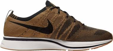 Nike Flyknit Trainer - Golden Beige/Black-black-gum Light Brown