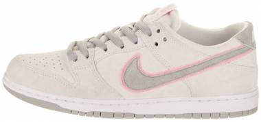 Nike SB Dunk Low Pro Ishod Wair - White / Perfect Pink-flat Silver