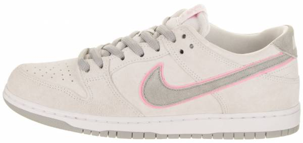 buy popular ad5d7 b9d2b Nike SB Dunk Low Pro Ishod Wair White Perfect Pink Flat Silver