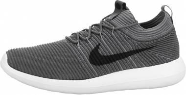 Nike Roshe Two Flyknit V2 - Grey Dark Grey Cool Grey White Black