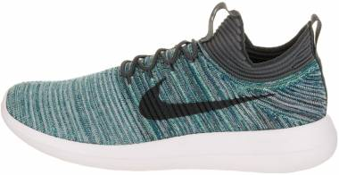 Nike Roshe Two Flyknit V2 - Green Abyss/Mica Blue