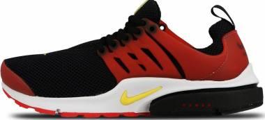 Nike Air Presto Essential Black/Tour Yellow/University Red/White Men