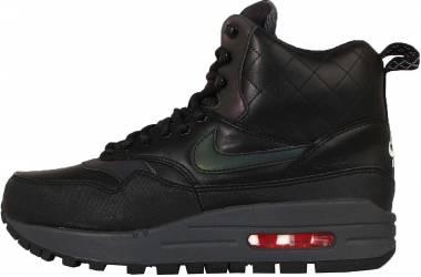 Nike Air Max 1 Mid Sneakerboot - Black (807307001)