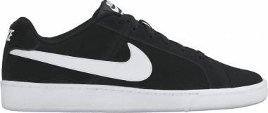 Nike Court Royale Suede - Black Black White 011