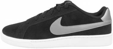 Nike Court Royale Suede - Black Black Mtlc Pewter Light Bone 005