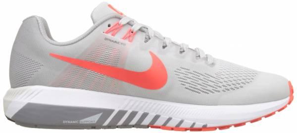 Nike Air Zoom Structure 21 - Vast Grey/Atmosphere Grey/Gunsmoke/Bright Crimson
