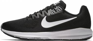 huge discount 7e741 82612 Nike Air Zoom Structure 21 Black Men