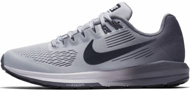Nike Air Zoom Structure 21 Gold (Pure Platinum/Anthracite/Cool 005) Men