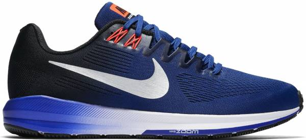 promo code 19d1f b5949 Nike Air Zoom Structure 21 Azul (Deep Royal Blue Black Concord Metallic