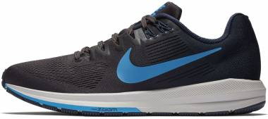 Nike Air Zoom Structure 21 - Multicolour Obsidian Blue Hero Thunder Grey 404 (904695404)
