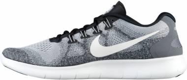 Nike Free RN 2017 - wolf grey/off white (880839002)