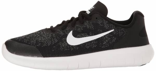 Nike Free RN 2017 - Black Black White Dark Grey Anthracite 002 (904255002)