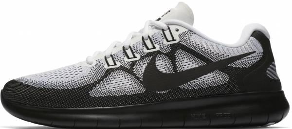 Nike Free RN 2017 - Black Black White