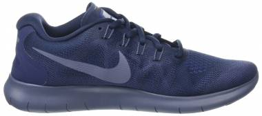 Nike Free RN 2017 - Obsidian/Light Carbon (880839408)