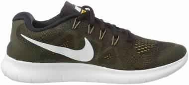 Nike Free RN 2017 - Black / Off White / Cargo Khaki