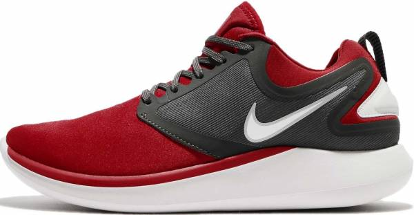 Nike Free Run 2 Mens Challenge Red White Black Shoes New