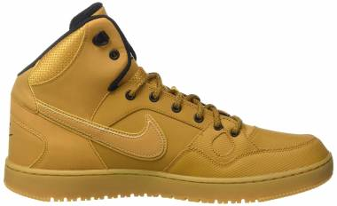 Nike Son Of Force Mid Winter - Orange Wheat Wheat Black Gum Light Brown 770 (807242770)