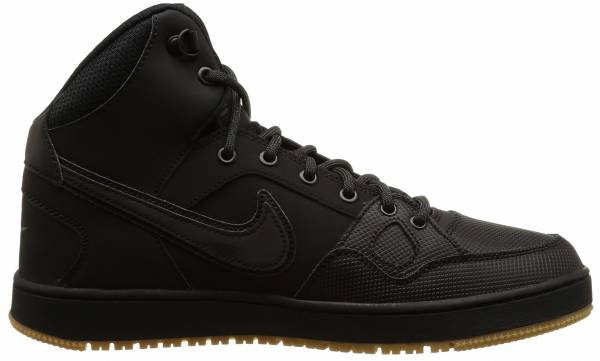 pretty nice e3c41 1f3ac Nike Son Of Force Mid Winter Black Black Anthracite Gum Light Brown