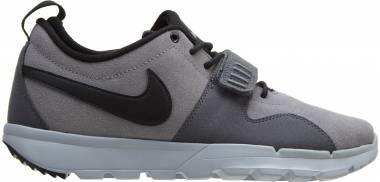 Nike SB Trainerendor Leather - Cool Grey Black Dark Grey 001