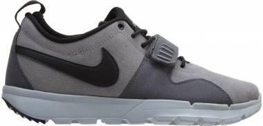 Nike SB Trainerendor Leather - Cargo Khaki/Metallic Cool Grey-white-white (806309001)