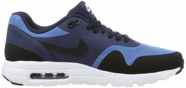 quality design ec587 17f34 Nike Air Max 1 Ultra Essential Blau (Star Blue Black Obsidian White