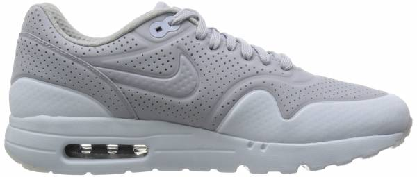 competitive price d649a 65232 Nike Air Max 1 Ultra Moire Gris   Plateado (Wolf Grey Wolf Grey-