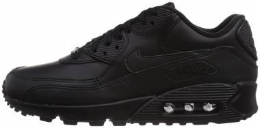 Nike Air Max 90 Leather - Black (302519001)