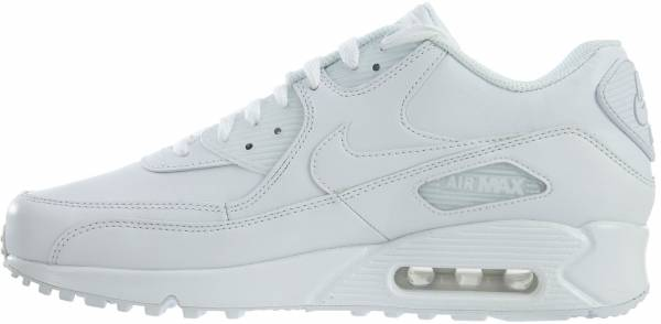 brand new 0fd0b 07d32 Nike Air Max 90 Leather White