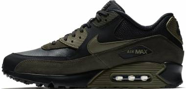 nike air max 90 leather nere