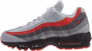 Nike Air Max 95 Essential - White White Bright Crimson Black Pur 112