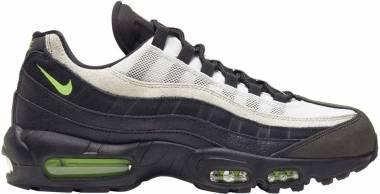 Nike Air Max 95 Essential - Negro Black Electric Green Platinum Tint 004