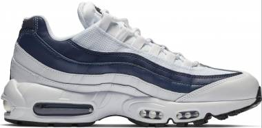 Nike Air Max 95 Essential - Multicolour White White Midnight Navy Monsoon Blue 114 (749766114)