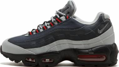 Nike Air Max 95 Essential •Silver / Cool Grey - Anthracite - University Red Men