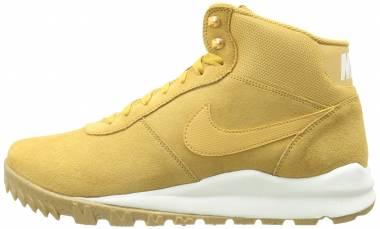 Nike Hoodland Suede - Yellow (654888727)